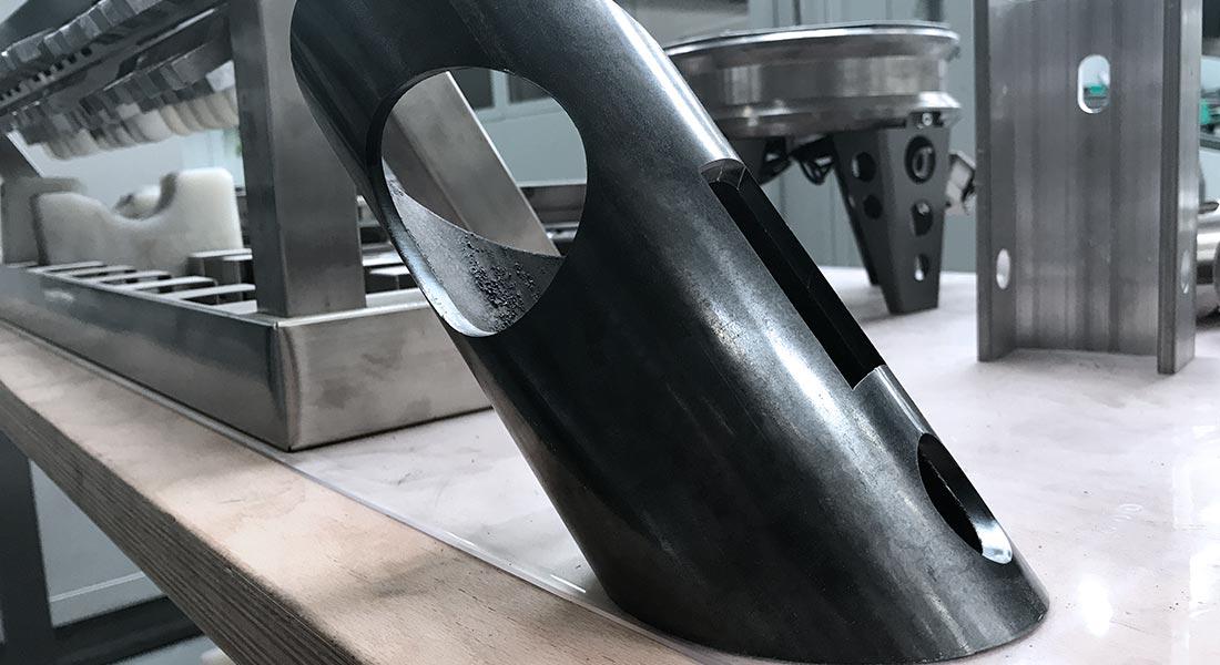 corte de acero por laser