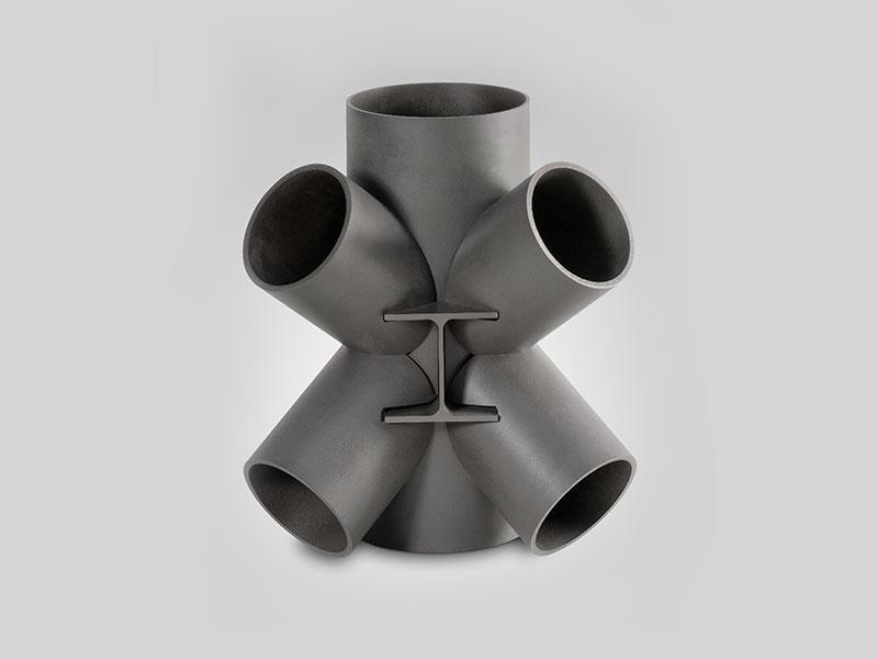 corte de tubo de acero por laser