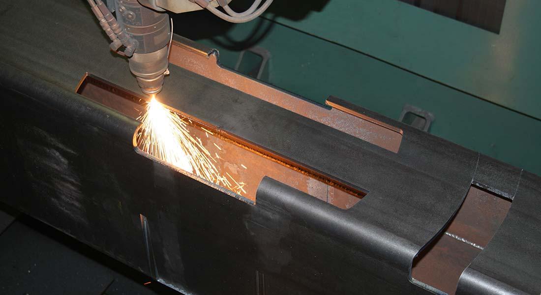corte láser tubo grandes dimensiones