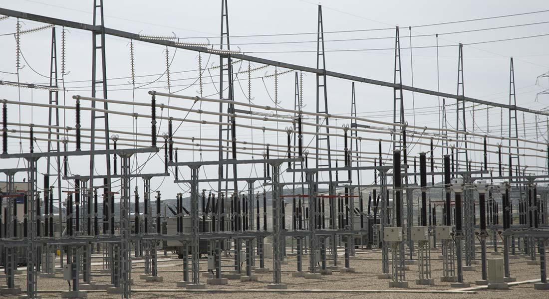 estructura metálica para subestaciones eléctricas