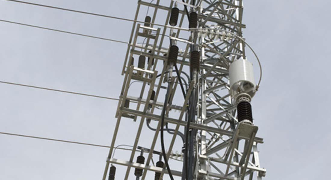 estructuras metálicas líneas eléctricas