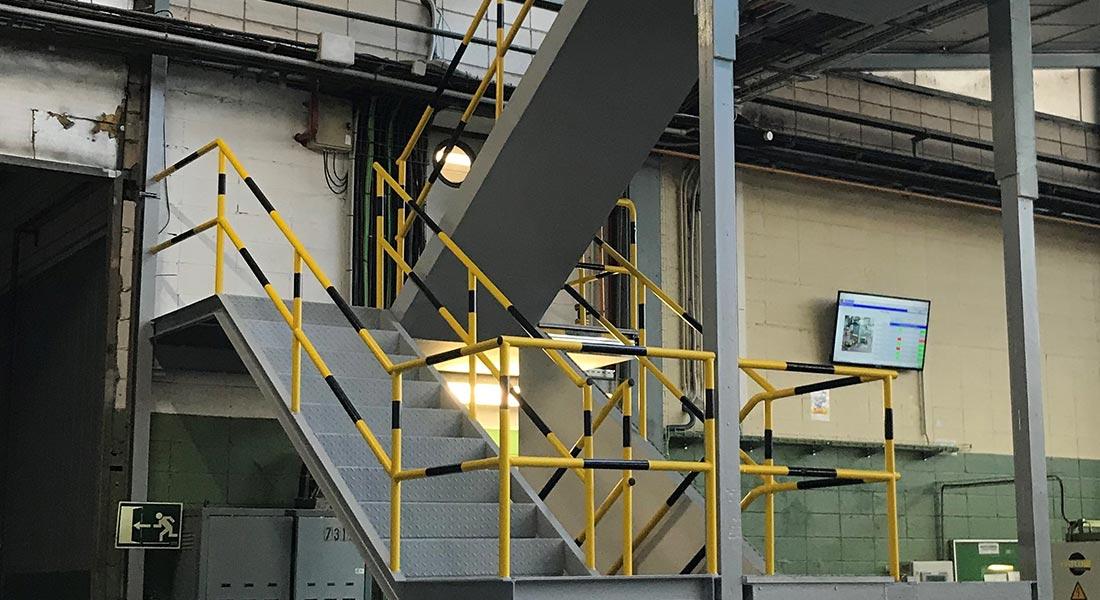 estructuras metálicas para industria