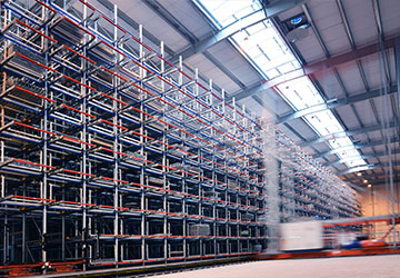 sistema almacenaje inteligente estructura